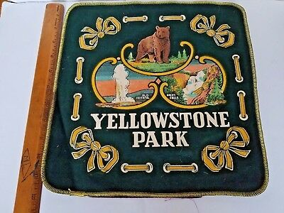 Vintage Stuff Your Own Yellowstone National Park Pillow Case