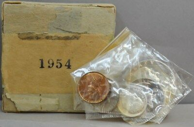 1954 U.S. Proof Set With Box and packaging