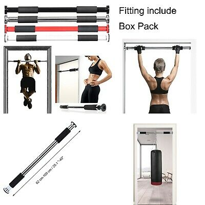 Pro Doorway Chin Up Pull up Bar Upper Body Abs Gym Fitness Training Strength UK