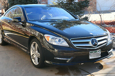 2013 Mercedes-Benz CL-Class AMG Appearance Package 2013 Mercedes-Benz CL550 Coupe