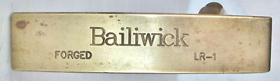 "Bailiwick Boss of the Moss LR1  Forged Milled BeCu Putter 34"" Fluted Steel Shaft"