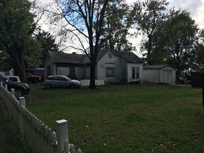 nice large lot with fixer upper home