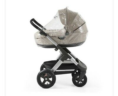 Stokke xplory raincover For Carry Cot. Brand New Unopened & In Box.