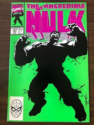 Incredible Hulk #377 (vol. 1) 1ST APP MERGED HULK PROFESSOR MARVEL VF/NM KEY