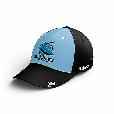Cronulla Sharks NRL 2019 X Blades Players Media Baseball Cap/Hat!