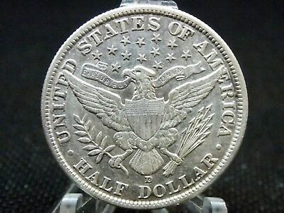 "1906 ""D""  Barber Half Dollar 50c XF Details  East Coast Coin & Collectables, Inc"