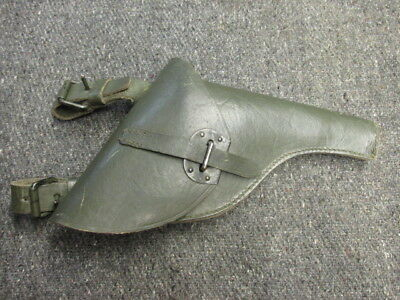 Wwi-Wwii Italian Model 1889 Bodeo Revolver Holster-Original-Excellent
