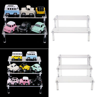 2pcs Acrylic Shelf Display Rack for Cupcake,makeup,perfume,collectibles