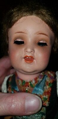 "Vintage Early German BLACK FOREST 12"" Doll Collector"