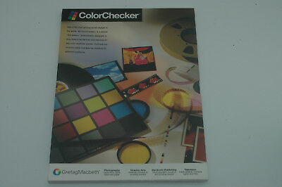 Gretag Macbeth Colorchecker - BRAND NEW in SEALED PACKAGE !