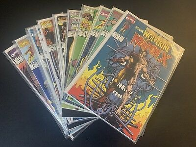 MARVEL COMICS PRESENTS 72-84 complete Set.  Weapon X. Wolverine Origin Story. NM