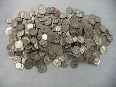 $10 fv face value Bag Pre-1965 90% Junk Silver Coins US Dimes Quarters 1964