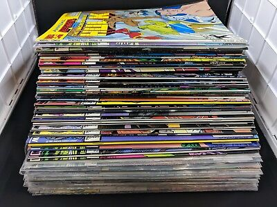The Incredible Hulk Lot of 63 Comic Books 278-421 Stan Lee Marvel 1982-94 Vol. 1