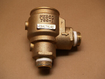 "New Febco 765 1"" Brass Body Assembly For Pressure Vacuum Breaker Pvb"