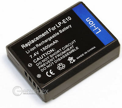 Replacement Battery for Canon Digital Camera Batteries LP-E10 LPE10 EOS Rebel T3