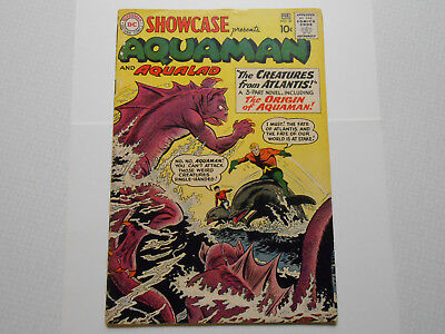 DC Showcase 30 FIrst Aquaman Silver Age Tryout Comic Book VG 4.0