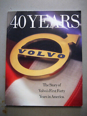 Volvo 40 Years The Story of Volvo's First Forty Years in America Book Gift