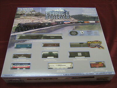 Train N Scale Empire Builder Set Aa24009 Bachmann Hobby Play Toy N  Gift Kids