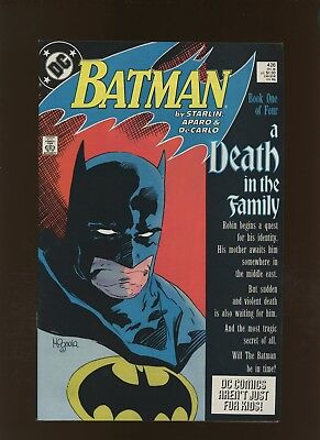 Batman 426 FN/VF 7.0 * 1 Book Lot * Death in the Family Part One! Mignola Cover!