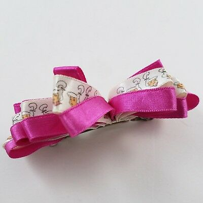 VINTAGE 1990s Judy Jetson hairbow hair bow barrette The Jetsons pink magenta