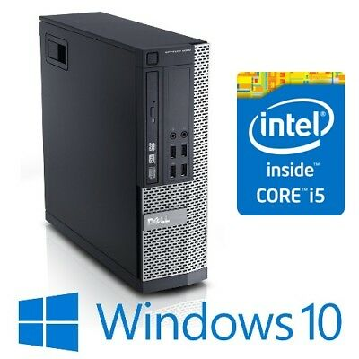 Dell Optiplex 9020 SFF Desktop PC Intel Core i5 4570 8G 240G SSD DVDRW Win 10