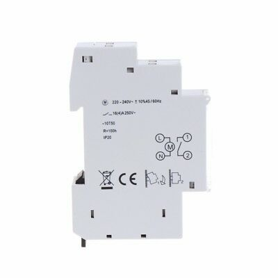 Mechanical 24 Hours Programmable Din Rail Timer Switch Relay 110-240V 16A Time S