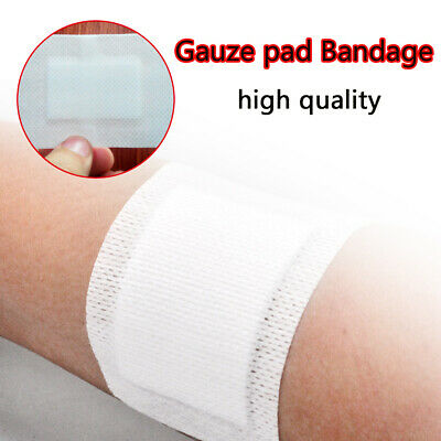 5pcs Non-Woven Medical Adhesive Wound Dressing Large Band Aid Bandage 6cm*10cm