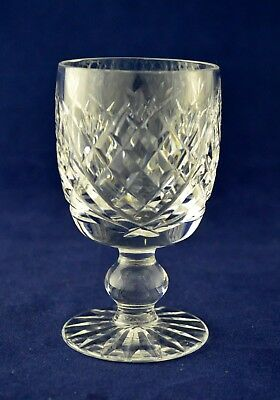"""Waterford Crystal """"DONEGAL"""" Sherry / Port Glass - 10cms (4"""") Tall"""