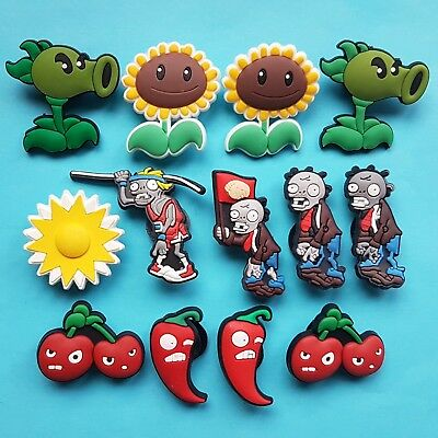 Plants vs Zombies Cake Decorations x 13 Cupcake Toppers Garden Warfare NEW