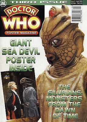 Doctor Who Poster Magazine #3 The Sea Devils - The Silurians