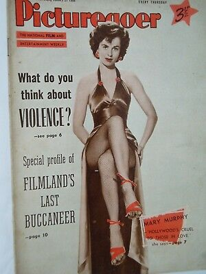PICTUREGOER FILM MAGAZINE....21st January  1956.....MARY MURPHY  front cover.,