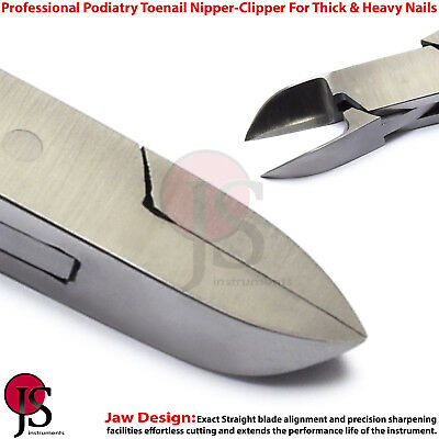 Chiropody Podiatry Ingrowing Toe Nail Clipper Nipper Cutter For Thick Heavy Nail