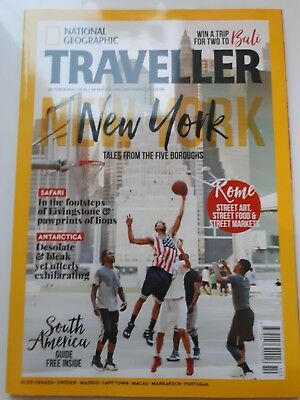NATIONAL GEOGRAPHIC TRAVELLER MAGAZINE October. 2016. NEW YORK