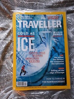 NATIONAL GEOGRAPHIC TRAVELLER MAGAZINE December 2017. ICE