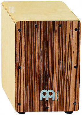 Meinl Percussion SCAJ1NT lb Mini Cajon Birch Wood Front Plate Body Parent...
