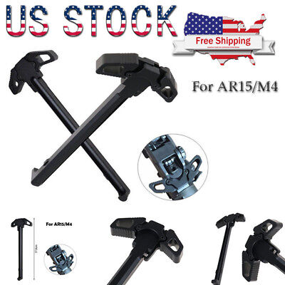 Black Butterfly Metal Cocking Handle Poignee Airsoft Accessory For AR15 M4GBB US