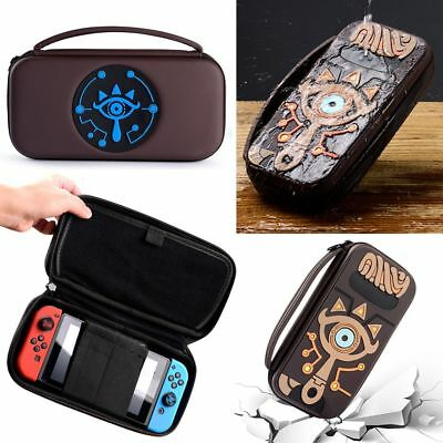 online shop online retailer lace up in ZELDA SHEIKAH SLATE Sac transport For Nintendo Console Switch Protect Case  Cover