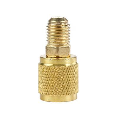 """NEW 516"""" SAE Female to 14"""" Male for R410a R22 Gauge Hose Vacuum Pump Adaptor"""
