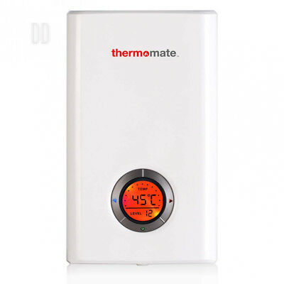Thermomate ELEX12 Instant Water Heater 12kW Tankless Electric Power Shower,...