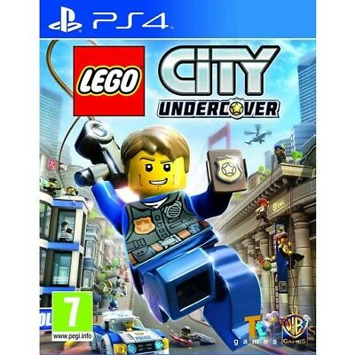 LEGO City Undercover (PS4)  BRAND NEW AND SEALED - IN STOCK - QUICK DISPATCH