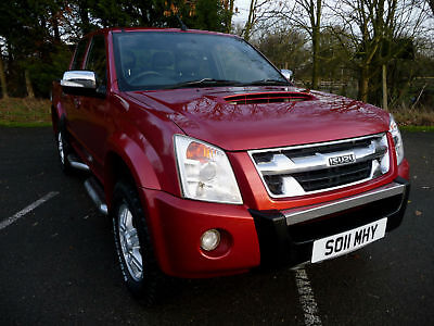 Isuzu Rodeo 3.0 Crd Denver Max Plus 4Wd Double Cab 86K S/hist 1 Owner Inc Vat