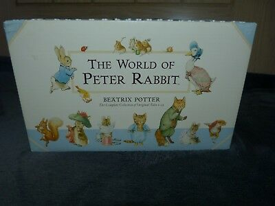 The World of Peter Rabbit. Complete Collection 23 Book Set by Beatrix Potter.