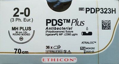 PDS Plus Ethicon Nahtmaterial Polydioxanone OP Chirurgie suture sutura Nadel