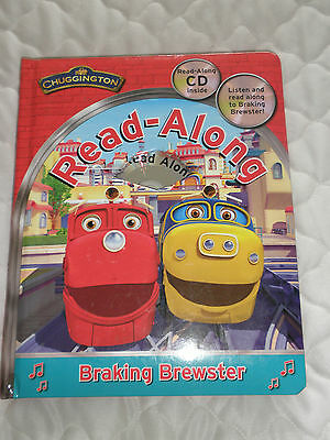 """read Along"" Chuggington Book And Cd With Braking Brewster.br New"