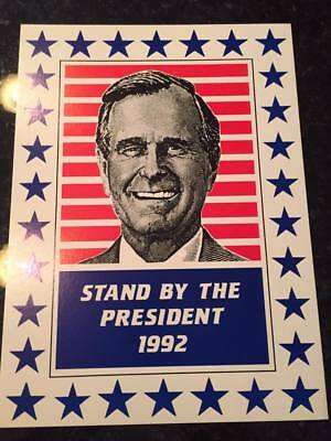 George H.W. Bush presidential campaign poster
