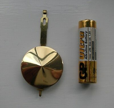 Vintage Clock Part ( Pendulum bob)