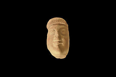 Greek large terracotta Head of a Kore 4th century BC