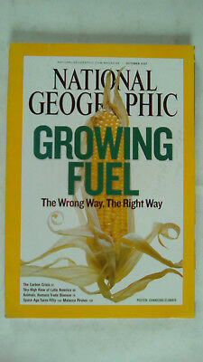 National Geographic Magazine October 2007 Growing Fuel Carbon Crisis