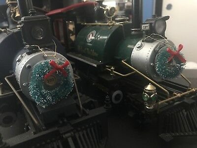 G Scale Christmas Holiday Wreah Pkg of 4