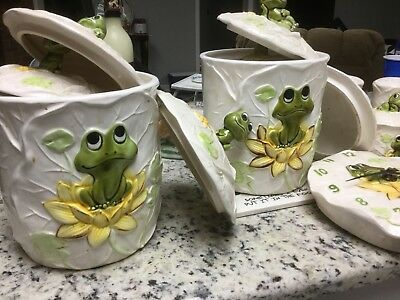 Neil The Frog Canisters
